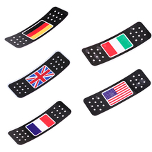 Car Styling Accessories Truck Motor Car Decorative Sticker American/Italian/German/British/French Flag Sticker Decals