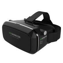 2016 Newest Multifunction and High Quality SHINECON Virtual Reality Immersive Glasses Headset For 3D Videos Movies Games Dec7