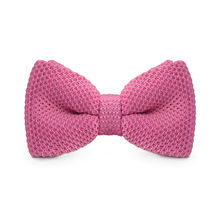 LF-305 New Arrival Knitted Crochet Men`s Bowties Adjustable Light Pink Solid Neckwear For Men Party Bussiness Free Shopping