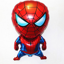 26inch cartoon spider-man aluminium foil balloon animals abnormity shape balloons children classic toys balloons(China)