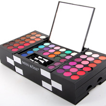MISS ROSE Brand 150 Color Eyeshadow Palette Makeup Glitter Eye Palette Maquiagem Profissional Matte Colour Pigment Eye Shadow(China)
