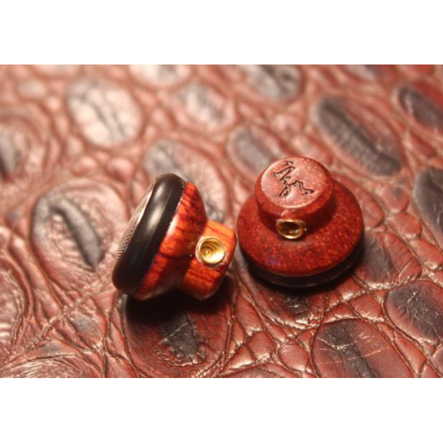 DIY Rosewood Hand-made for Shure In-ear Earphone with Microphone Stereo Bass Headset Oxygen-free Copper Wire Ear Plug for iphone<br><br>Aliexpress