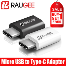 100% Brand New RAUGEE Top Quality Micro USB To Type-c Adaptor For Xiaomi Mi 6/4c/4i/5/5C/5S/5S Plus/Mix/Note 2/Pad 2/Redmi Pro