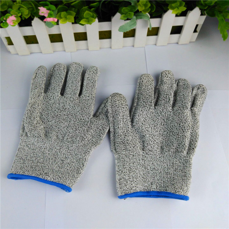1 - Pair Cut Resistant Gloves Level 3-5 Protection Safty Gloves for Hand protection<br><br>Aliexpress