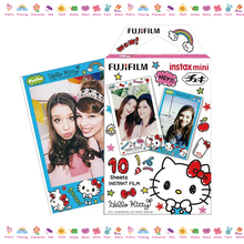 Geniune Fujifilm Instax Mini 8 Film Hello Kitty Design 10 Sheets Photo Paper For Mini 8 70 25 50s 90 Camera Share SP-1 SP-2