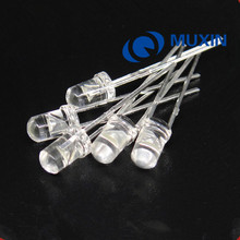3mm IR LED 1000pcs 3Diode 850nm Infrared 20mA DC 1.4-1.6V Transparent Light Emitting Diode LED Lamp Clear Lens Through Hole Bulb(China)