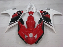Fairing Kits FZ6R 2011 Full Body Kits FZ6R 13 2009 - 2013 Red White Plastic Fairings for YAMAHA FZ6 Fazer 2013