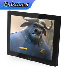"M150-EF 15 inch CCTV Remote LCD Monitor HD Display 15"" Embedded Frame Industrial Monitor Wall Mount Monitors With VESA Gift(China)"