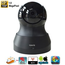 Tenvis TH661 IP Camera Baby Monitor 720P Wireless WIFI Pan /Tilt Onvif PTZ Camera P2P Tech for Smartphone CCTV Security
