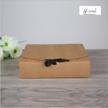 31*25.5*8cm Large size Kraft Packaging Paper Box , large gift box,large craft paper box white(China)