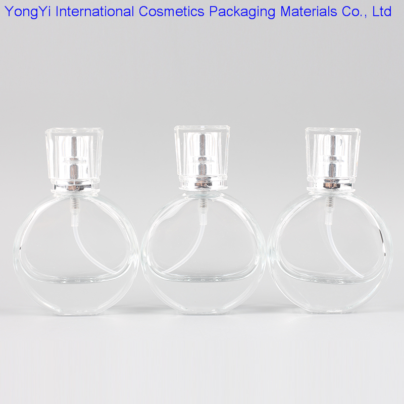 YB-40 High Quality 1Pcs 25ml Crystal Glass Perfume Bottle, High-end Air Grade Spray Bottle Free Shipping(China (Mainland))
