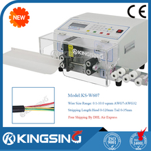 Electrical Automatic Wire/Cable Stripping Cutting Machine KS-W607 +Free Shipping by DHL air express (door to door service)