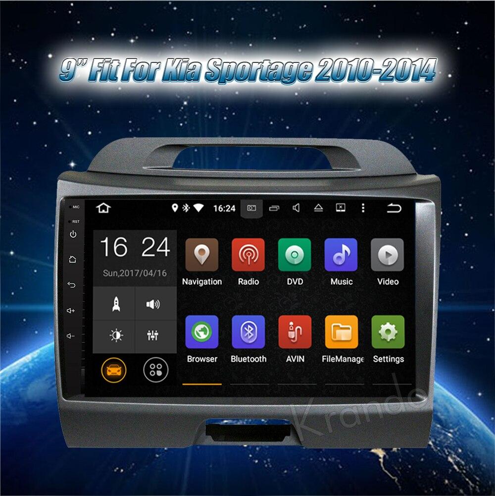 Krando android car stereo navigation system for kia sportage 2010-2014 car dvd player (2)