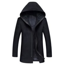 Woolen Overcoat for Men Brand Jacket Male Slim Fit Warm Fashion Outerwear Man Casual Jacket Wool Overcoat Long Jackets Gent Life