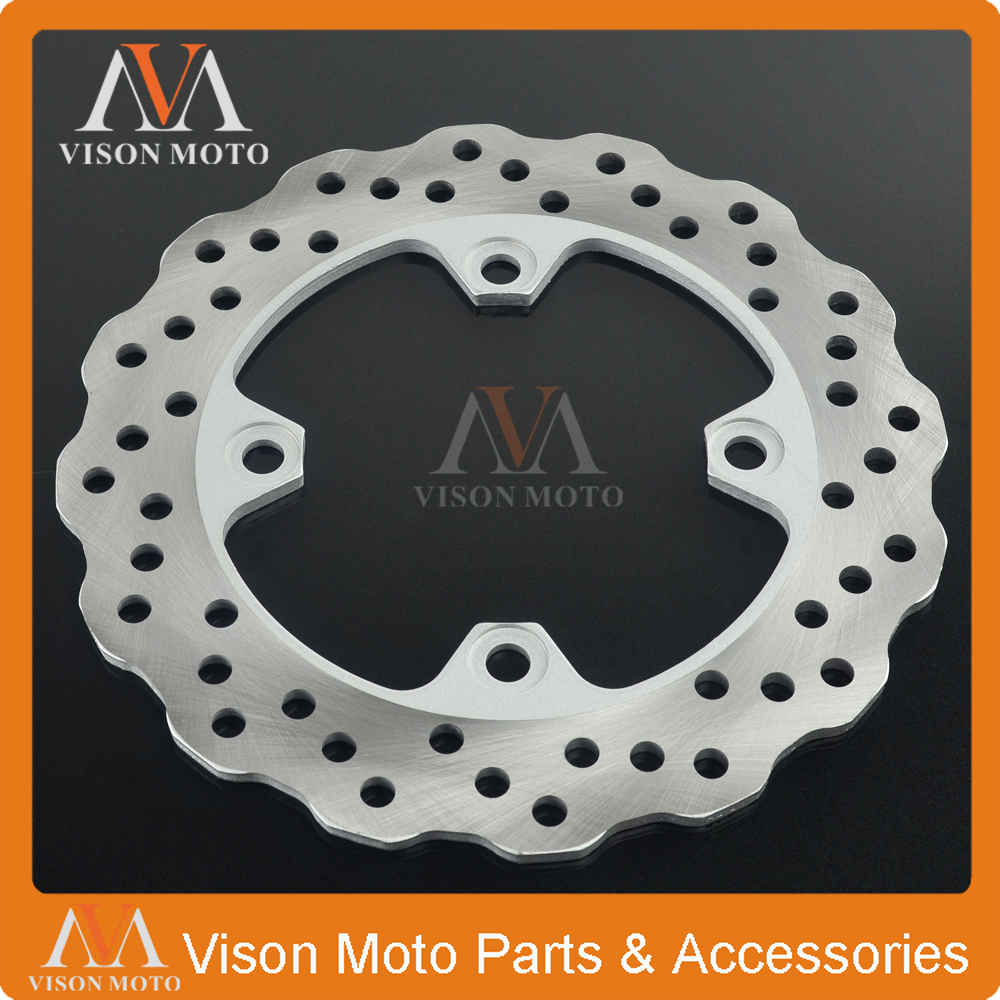Motorcycle Rear Brake Disc Rotor For KAWASAKI Z750 Z 750 2004 2005 2006 ZX9R ZX-9R ZX10R ZX-10R ZX Z 1000 ZX1000 Z1000<br>
