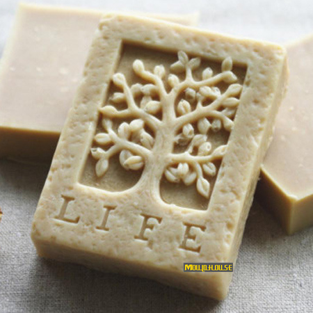 life tree Square Shaped Soap Silicone Mold Trees Molds Resin Candle Mould Form of Cake Polymer Clay Tools Cooking Supplies(China)