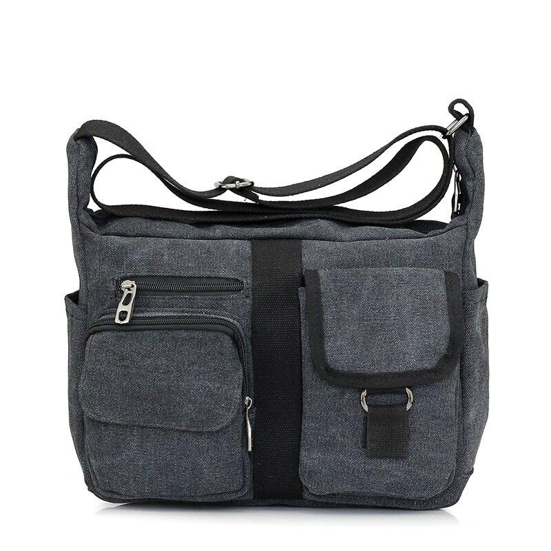 Casual Canvas Womens Handbags Satchel/Shoulder Bags Crossbody Men Messenger Bags Vintage Military Business Travel School Bolsas<br><br>Aliexpress