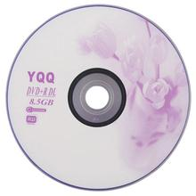 5Pcs New 8X Blank Recordable Printable DVD+R DVDR Blank Disc Disk 8X Media 8.5GB #10407(China)
