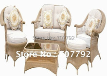 2017 hot sale elegant synthetic rattan chair