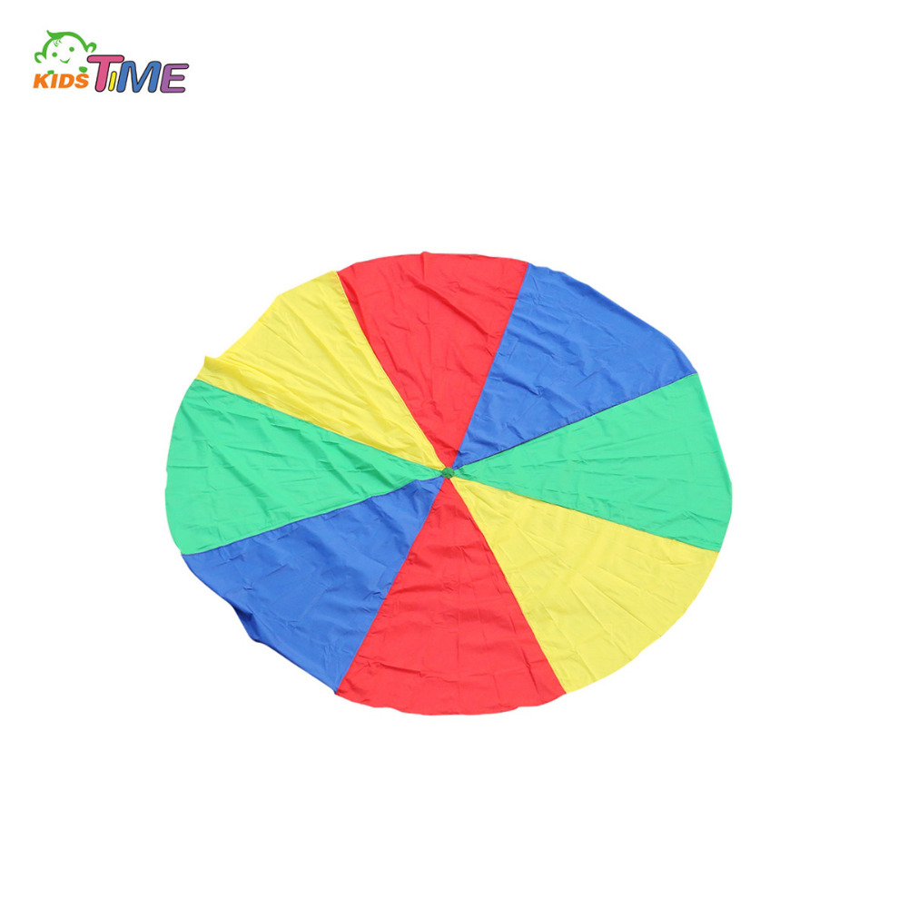 Parachute 3M Rainbow Kids Umbrella Outdoor Toys For Children Developmen Cooperation Early Education Sports Games VS 2M 3.6M 5M(China (Mainland))