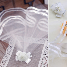 Retro Wedding Veil Bridal Costume Boutique Puppy Cat Pets Dog Accessory Grooming(China)