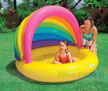Intex Child Pool Inflatable Swimming Pool Fence Set Child Pool Float Swimming Pool Inflatable Filter Infant Bathtub Spa Cover