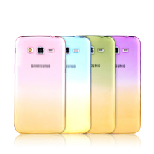 Phone Case For Samsung Galaxy Grand 2 Grand Prime G530 G530F G7102 G7105 Grand2 TPU Silicon Shell Ultrathin Transparent Casing