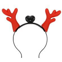Light-Up Cartoon Antlers Ears Headband LED Flashing Costume Party Children Christmas Decoration Gift