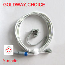 Compatible Choice Goldway UT4000A UT4000Apro UT4000F UT4000B UT4000Fpro lemo 5pin multi site y model spo2 sensor pulse probe