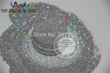 Holographic Laser SILVER color Makeup Loose Glitter Powder  Eyeshadow  Face Body Cosmetic for free shipping