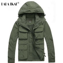 Camping Jacket Men Army Military Hiking Outdoor Jacket Tactical Windstopper Hunting Training Jacket Men Fishing Vest HMA0040-5