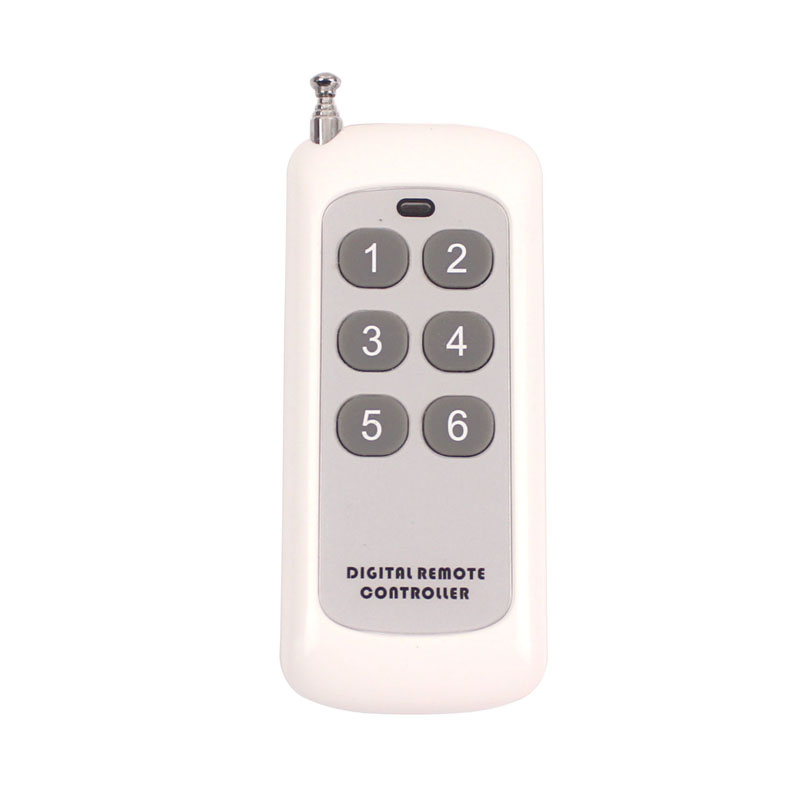 12V 10A 1CH Wireless RF Remote Control Switch Transmitter Receiver Module For Accessdoor Control System 315MHz 433MHz (1)