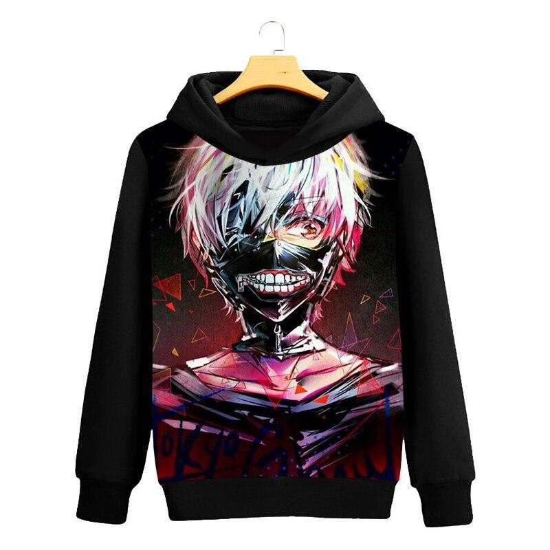 Tokyo Ghoul Cosplay Hoodie Ken Kaneki 3D Printed Casual Long Sleeve Men Spring Hip hop clothing Tops Luxtees (1)