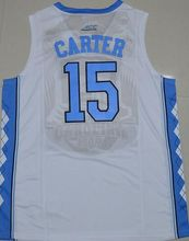 2016 Vince Carter 15 north carolina tar heels jersey retro College Jersey throwback Customize any name number Basketball Jerseys(China)