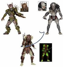 "NECA The Ultimate Alien Hunter Predator Ghost / Stalker / Spiked Talk Predator PVC Action Figure Collectible Model Toy 8"" 20cm"