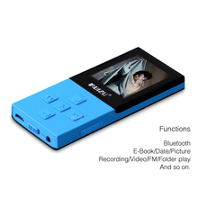 Brand New X18 8G Bluetooth Sport MP3 Player Lossless Recorder FM Radio Bluetooth 4.0 Music Player Support 64G TF Card