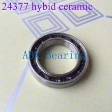Free shipping 24377-2RS01 MR2437 6805 2RS MR24377LLU 24377 Bike axial bearing hybrid ceramic bearing for FSA MS185(China)