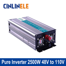 Smart Series Pure Sine Wave Inverter 2500W CLP2500A-481 DC 48V to AC 110V 2500W Surge Power 5000W Power Inverter 48V 110V