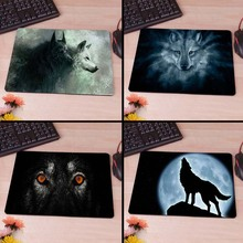 Wolf Computer Mouse Pad Mousepads Decorate Your Desk Non-Skid Rubber Pad
