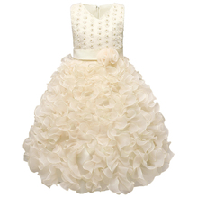 Luxury Baby Girls Dress Kids Wedding Birthday Dresses Events Dance Party Formal Wear Children's Clothing Girl Frocks 3-10 Years