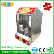 Newest Commercial Food Warmer Showcase Heat Preservation Display Insulation Moisture Cabinet For Snack Equipment(China)