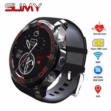 Slimy 2017 3G Smart Watch Phone S11 Android 5.1 OS 521MB+4G Bluetooth 4.0 Camera Smartwatch MTK6572 Support Sim TF Card GPS Wifi