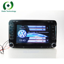 2 Din 7 Inch Car DVD Player Multimedia For VW/Volkswagen/Passat/POLO/GOLF/Skoda/Seat/Leon With GPS Navigaiton IPOD FM RDS Maps