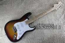 Factory New Arrival On Sale F left neck Sunset Burst right stratocaster Electric Guitar Custom Body In Stock  @18