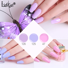 UV Painting Gel Pink Purple Series 6ml Jar Pure Color Nail Art Design Salon Recommend Soak UV LED Nail Gel Color Paints Varnish