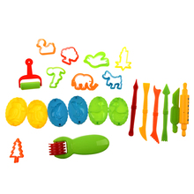23 Plasticine Making Tools Color Clay Mould Set