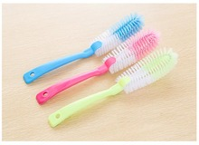 Kitchen Cleaning Brushes Wash Cup Brush Baby Bottle Brush Long Handle Pinceis Bottle Cleaner 1 PC(China)