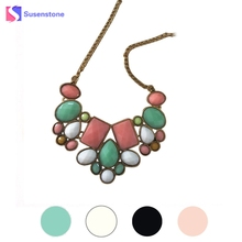 Hot Sales NEW Top Brand 2017 New Fashion Bohemia Knitting Necklace Choker Collar Necklace Fine Jewerly For Women Necklace Best