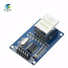10pcs/lot ENC28J60 LAN Ethernet Network Board Module for arduino 25MHZ Crystal AVR 51 LPC STM32 3.3V+free shipping