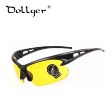 Dollger New Night Driving Glasses Goggles Sunglasses Men High Quality Anti-glare UV400 Night Vision Eyewear Oculos De Sol s1375
